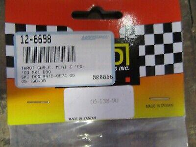 SPI THROTTLE CABLE (SKI-DOO MINI Z) #415-0874-00 (#12-6698) Item #508