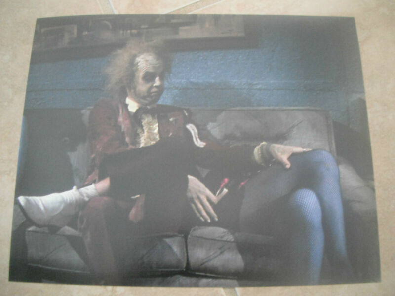 Beetlejuice Michael Keaton Color 8x10 Picture Photo Sexy Hollywood