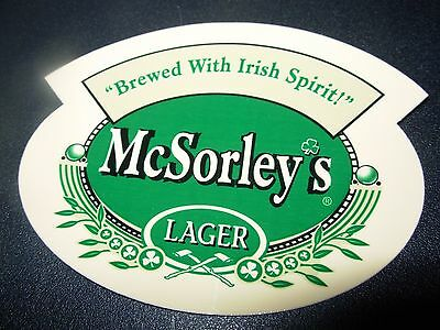 McSORLEYS OLD ALE HOUSE New York LAGER STICKER decal craft beer brewery brewing (Mcsorleys Old Ale House)