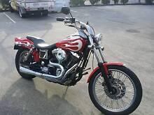 Harley Davidson Wide Glide Molendinar Gold Coast City Preview