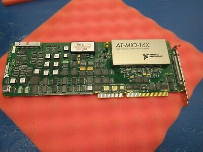 National Instruments At-mio-16x 16-bit High Resolution Malfunction Daq Board