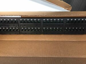 New in box 48 port patch panel
