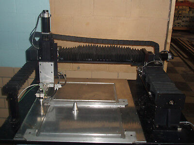 3-4 Axis Cnc Table Top Mill Laser Engraver- Galil Amp-20540 Check Info