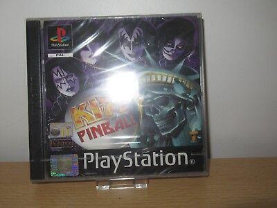 KISS PINBALL Playstation 1 PS1 Pal NEW Sealed