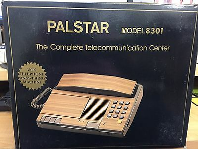 Vtg PALSTAR 8301 Cassette Tape Answering Machine VOX Record A Call TELECOM