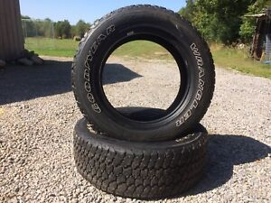 Goodyear Wrangler Adventure tires with Kevlar set of 4