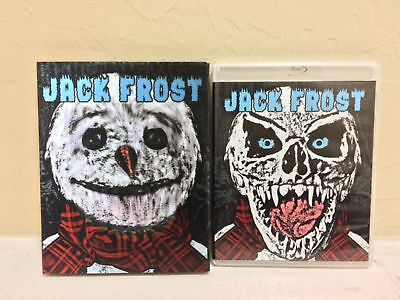 Vinegar Syndrome Jack Frost DVD Blu-Ray Limited Editon Lenticular Slipcover  NEW, used for sale  Springfield