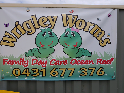 Wrigley worms family day care