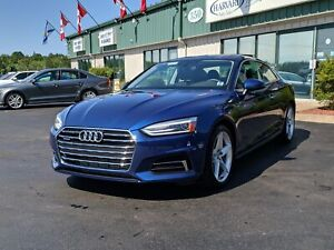 2018 Audi A5 2.0T Komfort LEATHER/PANORAMIC SUNROOF/BACK UP C...