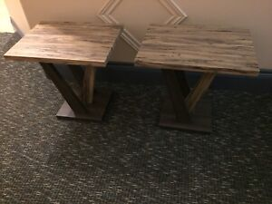 Love seat, coffee table & end table