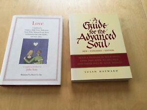 2 books, Love poems / A Guide for the Advanced Soul, gift