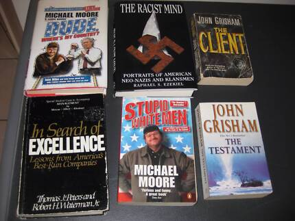 Novels The Client The Testament Racist Mind,Dude, Stupid Whiteman