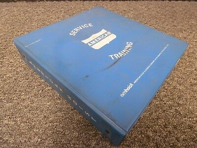 American 7150 All Terrain Mobile Truck Crane Shop Service Repair Manual Book