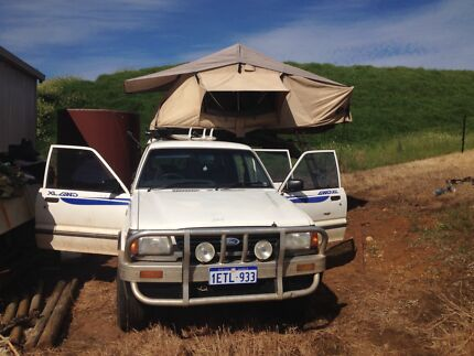 1997 Ford Courier Ute roof-tent Carnarvon Region Preview