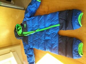 The North Face one piece boys snow suit 6-12 months