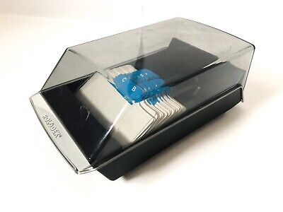 Rolodex Vip 24c Business Card File A-z Index Made In Usa