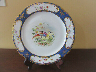Royal Crown Dish Pink Marked Collectible Plates and Dishes Green Blue