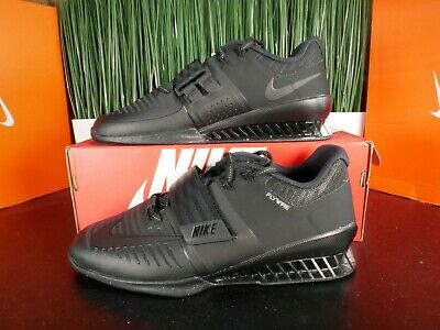 Nike Romaleos 3 Mens Weighlifting Shoes Triple Black 852933-004 Size 11.5 comprar usado  Enviando para Brazil