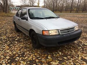 1991 Toyota Tercel DX coupe