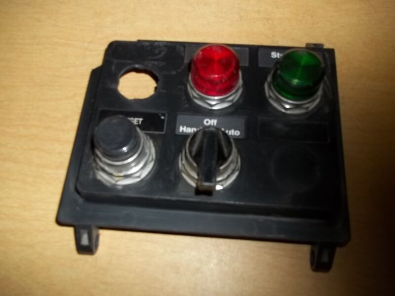 Cutler Hammer 4-Switch Control Operator Panel 1161D43HO *FREE SHIPPING*