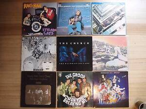 """Vinyl Records - The Church, Toto, Stray Cats, 7""""s & More Moonah Glenorchy Area Preview"""