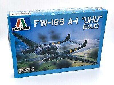 Italeri 1:72 Focke-Wulf-189 A-1 Uhu