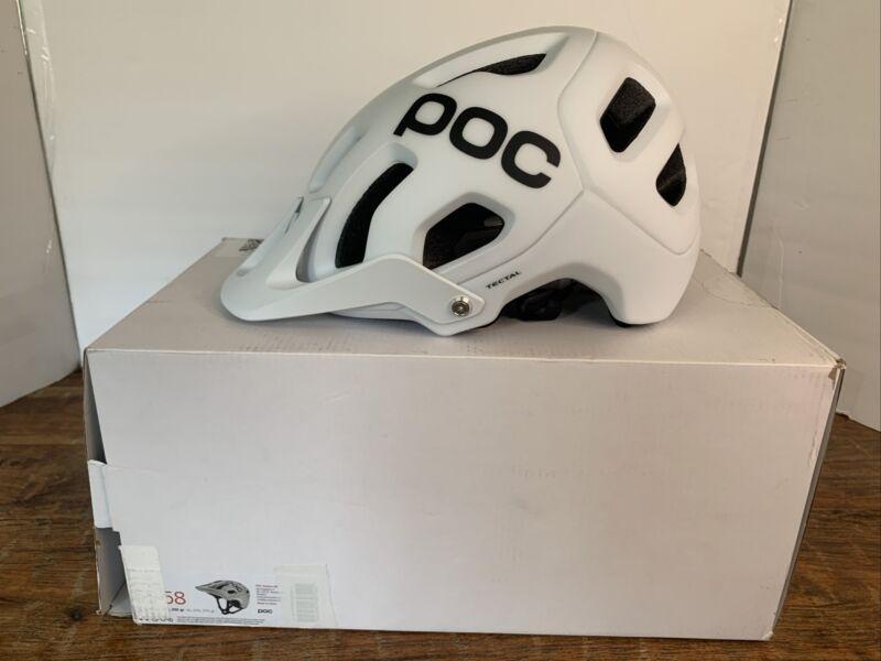 POC, Tectal, Helmet for Mountain Biking, Hydrogen White, Med-Large NWT