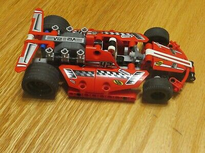 Lego Technic Set #42011 Race Car with Pull Back & Go Motor!!  Includes Manual