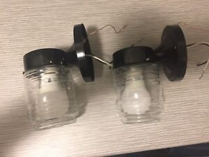 Two BRAND NEW Outdoor Lights