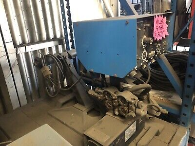 Miller Welder D-52a Dual Wire Feeder Used Tested Great Condition 115v 2 Plugs