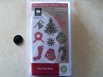 Cricut Cartridge Winter Collection Trim The Tree 2000538 New Sealed Christmas