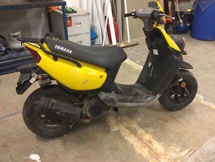 Yamaha bee wee 100cc scooter