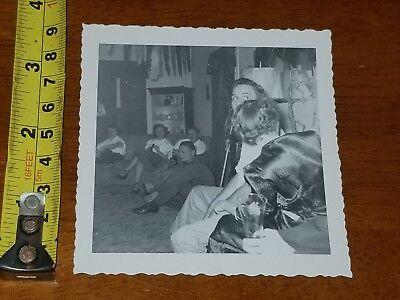 Halloween 1952 (RARE OLD VINTAGE PHOTO 1952 HALLOWEEN)