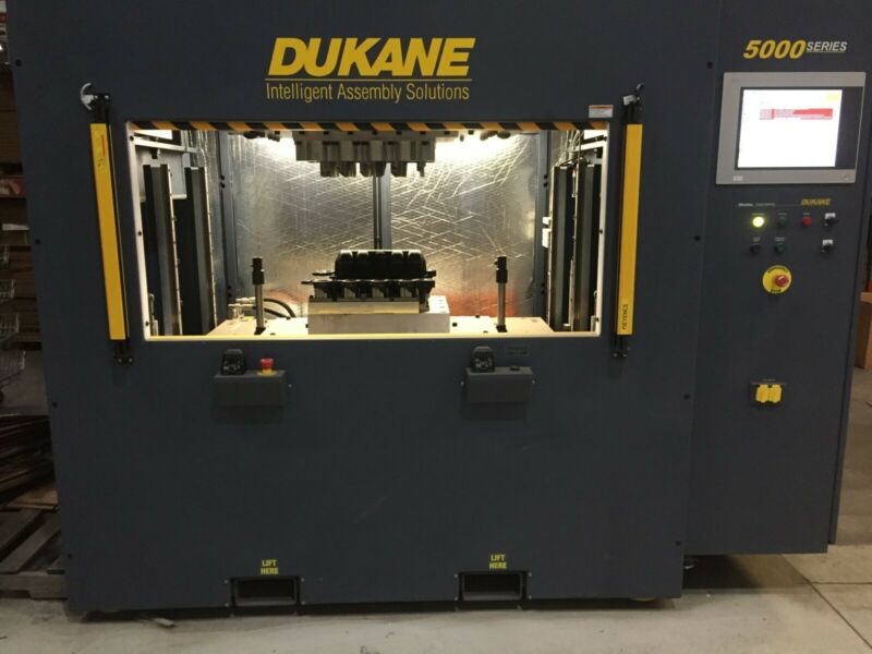 Dukane Vibration Welder VW5700LPT