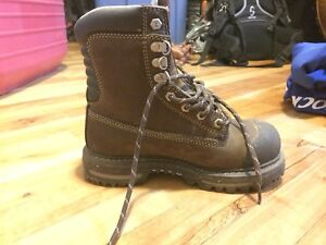 Ladies steel toe work boots size 6