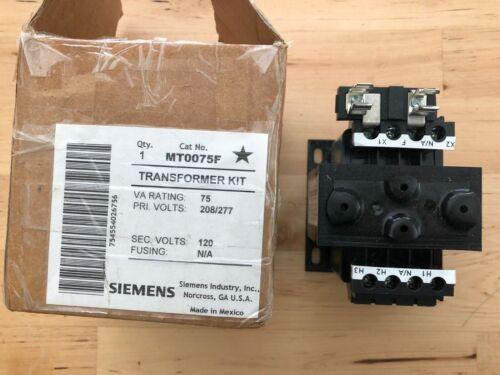 SIEMENS MT0075F / MT0075F Transformer Kit 75VA Industrial Control Transformer