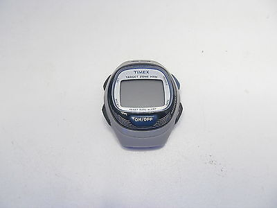Timex TARGET ZONE T5K539 HRM PERSONAL TRAINER W/O STRAP AS IS NOT WORKING