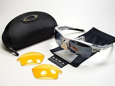 Oakley Fast Jacket XL OO Black Polarized Array Sonnenbrille Flak Split Racing XX
