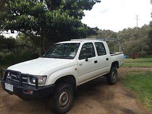 1998 Toyota Hilux 4WD Dual Cab, 3lt Diesel Ute Rye Mornington Peninsula Preview