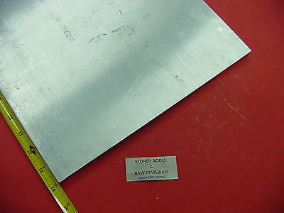 12 X 12 Aluminum 6061 Flat Bar 14 Long Solid T6511 .50 Plate Mill Stock