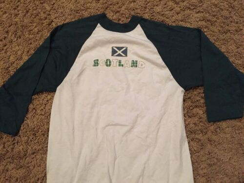 SEAN CONNERY vintage SCOTLAND custom one-off long sleeve t-shirt Adult Medium
