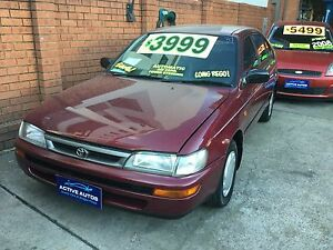 1998 Toyota Corolla Hatchback Homebush Strathfield Area Preview