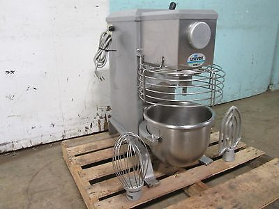 """""""UNIVEX SRM12"""" H.D. COMMERCIAL (NSF) 12qt BAKERY MIXER 115V 1/3HP w/PADDLE/WHIP"""