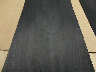 Poplar Black Dyed Wood Veneer 8.5 X 115 Raw No Backing A Grade 142 Thick