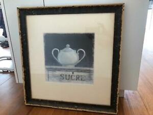 Framed French provincial print Northcote Darebin Area Preview