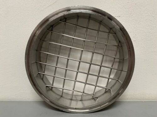 """Stainless Steel 6.5"""" by 2"""" Sanitary Coupling w/ Mesh"""
