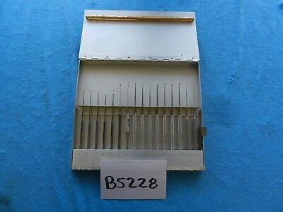 V. Mueller Surgical Ent Pick Instrument Set W Case 2