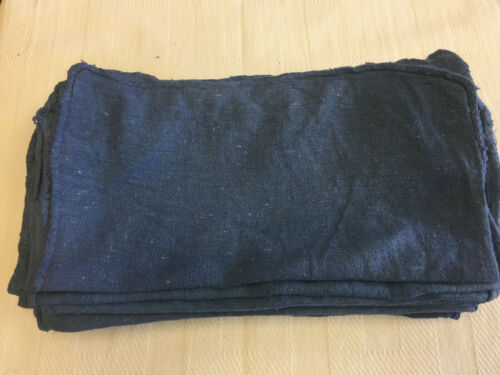 "1500 Pieces New BLUE Shop Towels Rags Industrial 18""x30"""