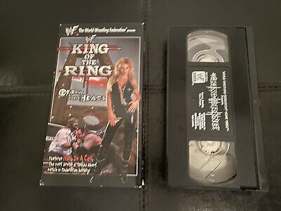 WWF King Of The Ring 1998 WWF Home Video VHS 98 Wrestling Tape WWE Vintage