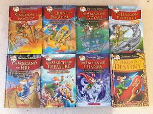 8 x Geronimo Stilton Hard Cover books set Carlingford The Hills District Preview